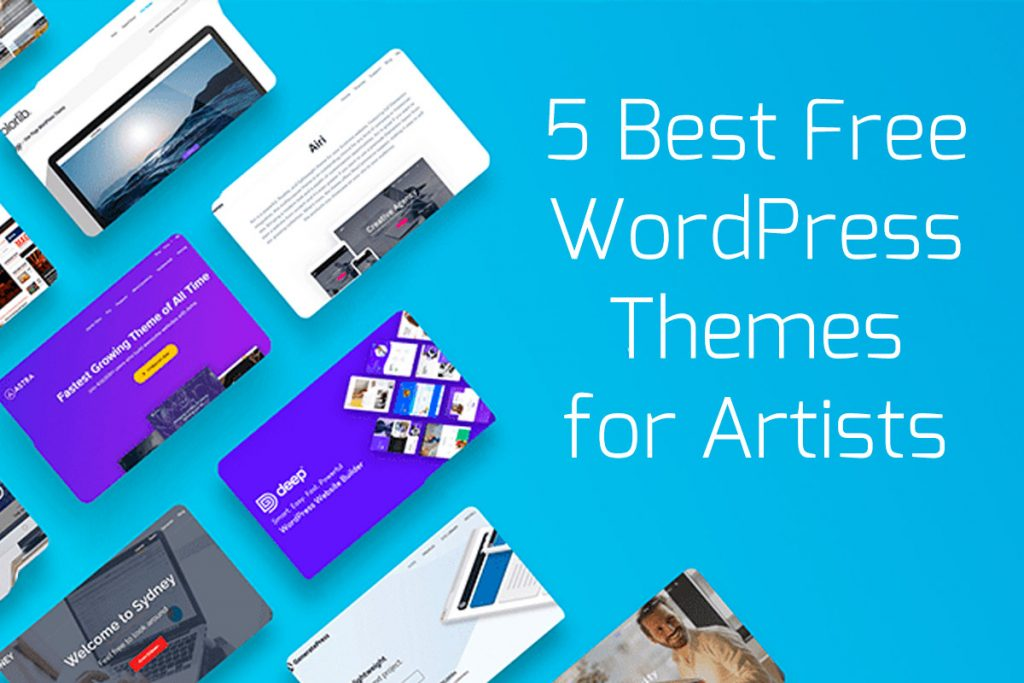 Best Free WordPress Themes for Artists